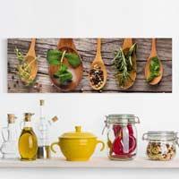 Küchen Leinwandbilder kaufen | Bilder Shop | Klebefieber