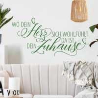 Wandtattoo für Wohnzimmer online kaufen | Klebefieber.de
