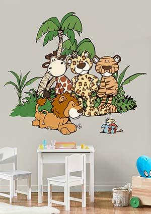 Wandtattoo Kinderzimmer kaufen | Wandtattoo Shop | Klebefieber