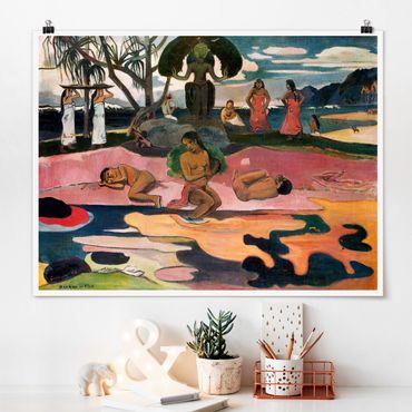 Poster - Paul Gauguin - Gottestag - Querformat 3:4