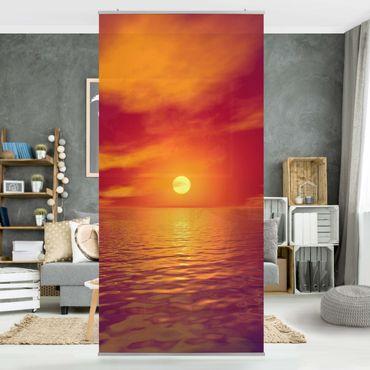Raumteiler - Beautiful Sunset 250x120cm
