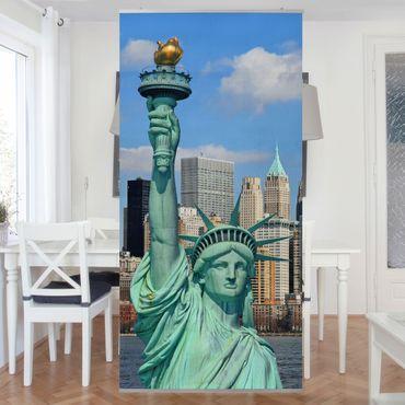 Raumteiler - New York Skyline 250x120cm