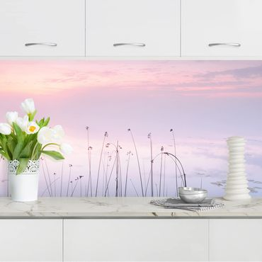 Küchenrückwand - Idylle am See