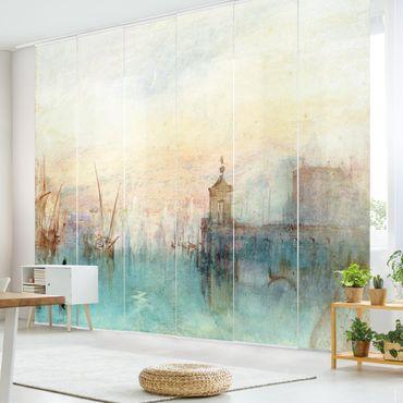 Schiebegardinen Set - William Turner - Venedig mit erster Mondsichel - Flächenvorhänge