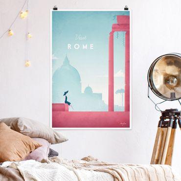 Poster - Reiseposter - Rom - Hochformat 3:2