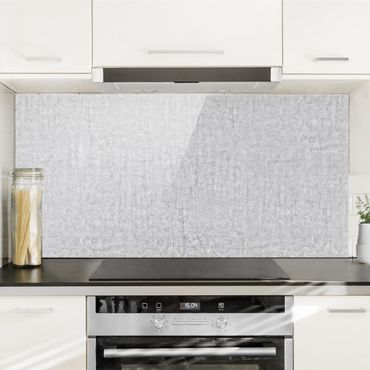 Spritzschutz Glas - Beton Ciré - Querformat - 2:1