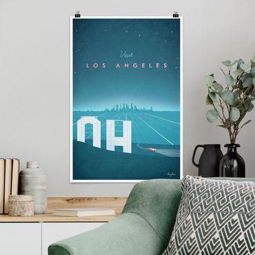 Poster - Reiseposter - Los Angeles - Hochformat 3:2
