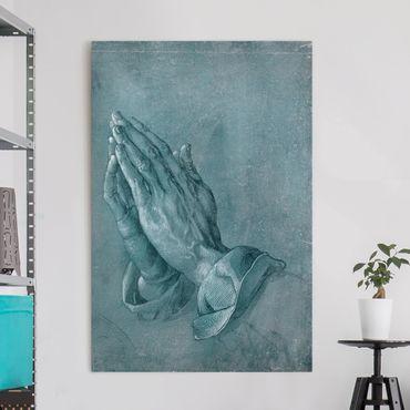 Leinwandbild - Albrecht Dürer - Studie zu Betende Hände - Hochformat 3:2