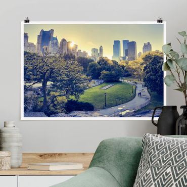 Poster - Peaceful Central Park - Querformat 2:3