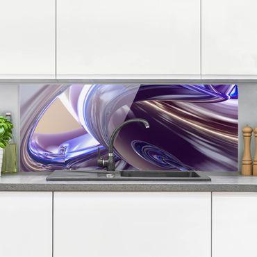 Spritzschutz Glas - Forcing Darkness - Panorama - 5:2
