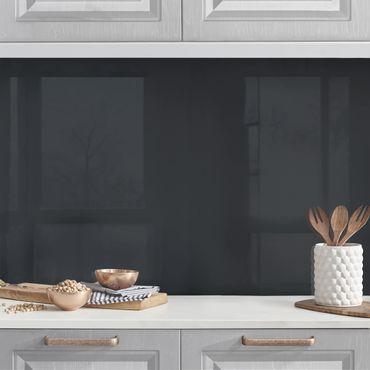 Küchenrückwand - Mondgrau