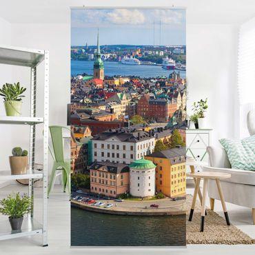 Raumteiler - Stockholm in Schweden 250x120cm