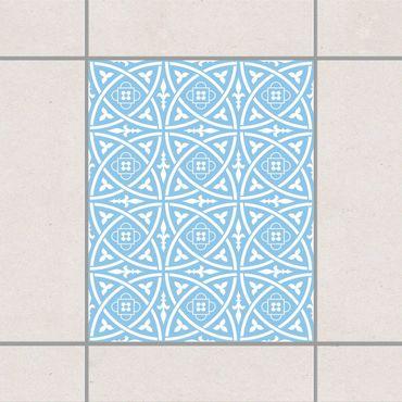 Fliesenaufkleber - Keltisch Light Blue Blau