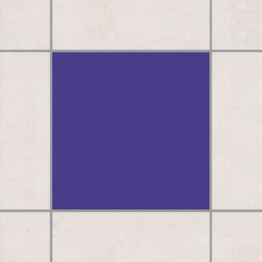 Fliesenaufkleber - Colour Dark Lilac Lila