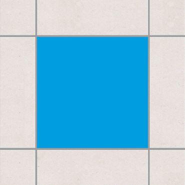 Fliesenaufkleber - Colour Grey Cyan Blau