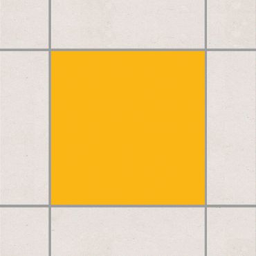 Fliesenaufkleber - Colour Melon Yellow Gelb