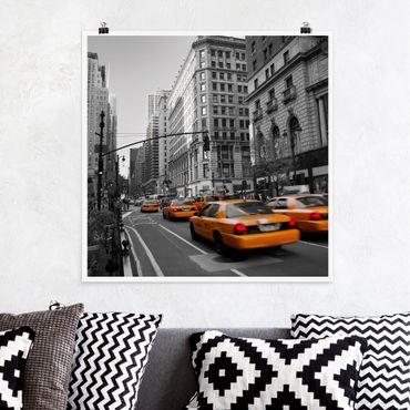 Poster - New York, New York! - Quadrat 1:1