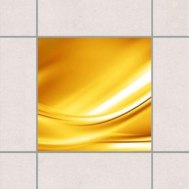 Fliesenaufkleber - Golden Glow
