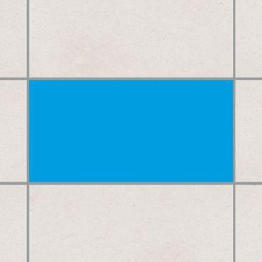 Fliesenaufkleber - Colour Cyan Blau