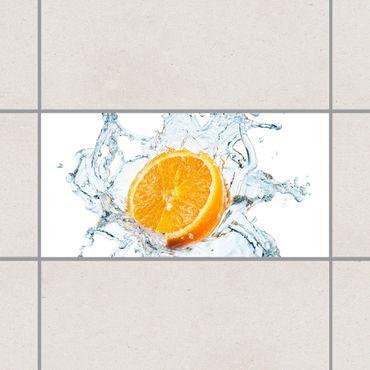 Fliesenaufkleber - Frische Orange