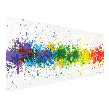 Forexbild - Rainbow Splatter