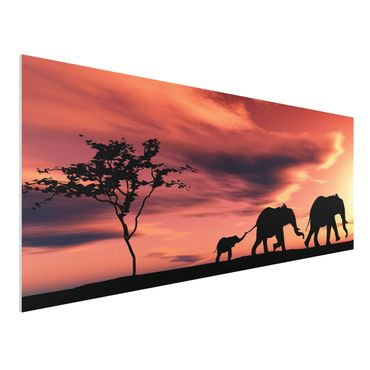 Forexbild - Savannah Elefant Family