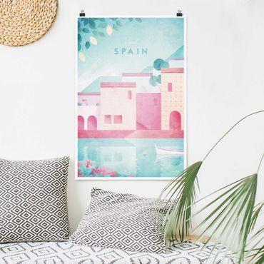 Poster - Reiseposter - Spanien - Hochformat 3:2
