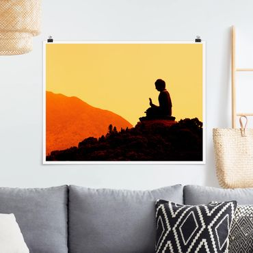 Poster - Resting Buddha - Querformat 3:4
