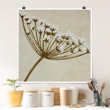 Poster - Wildflower - Quadrat 1:1