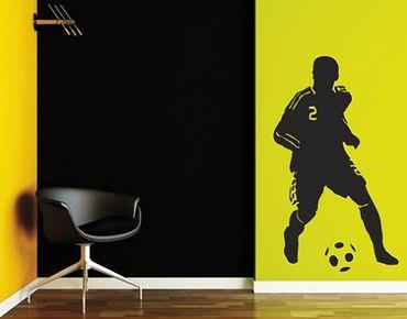 Wandtattoo Fußball - No.UL186 Fußballspieler 2