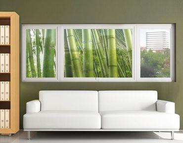 Fensterfolie - Sichtschutz Fenster Bamboo Trees No.2 - Fensterbilder