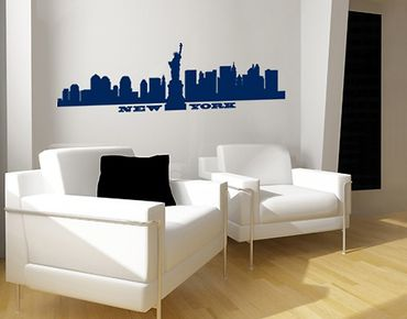 Wandtattoo Skyline No.SF490 New York Skyline