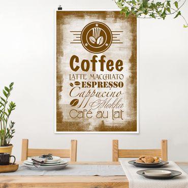 Poster - No.SF597 Coffee 4 - Hochformat 3:2