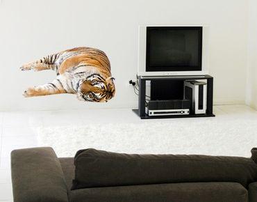 Wandtattoo Tiger No.96 Schmusetiger