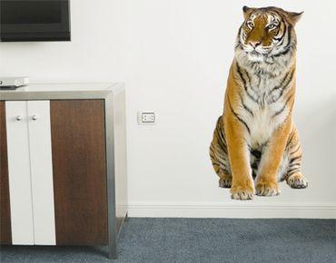 Wandtattoo Tiger No.129 Indochinesischer Tiger