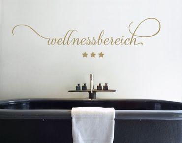 Wandtattoo Sprüche - Wandworte No.SF540 Wellnessbereich