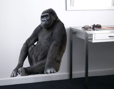 Wandtattoo Affe No.161 Gorilla III