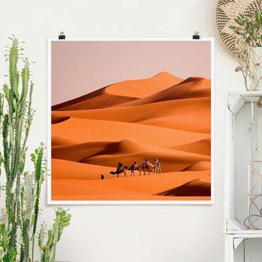 Poster - Namib Desert - Quadrat 1:1
