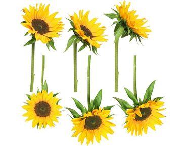 Fensterfolie - Fenstersticker No.193 Sonnenblumen - Fensterbilder
