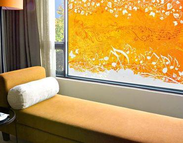 Fensterfolie - Sichtschutz Fenster Autumn - Fensterbilder