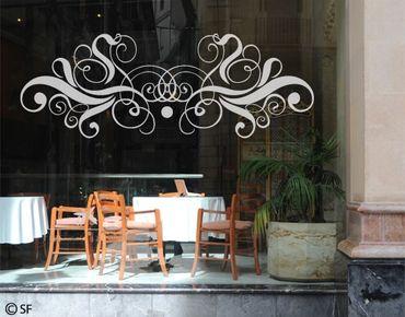 Fensterfolie - Fenstertattoo No.SF808 Ornament - Milchglasfolie