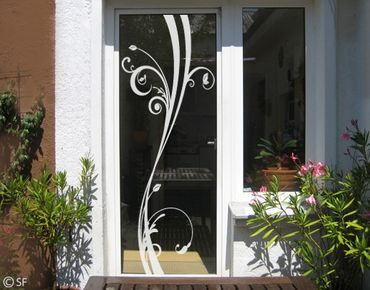 Fensterfolie - Fenstertattoo No.SF848 WindowPlant - Milchglasfolie