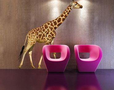 Wandtattoo Giraffe No.312 Laufende Giraffe