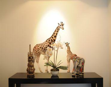 Wandtattoo Giraffe No.356 Giraffenmutter und Baby