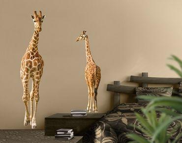 Wandtattoo Giraffe No.315 Zwei Giraffen