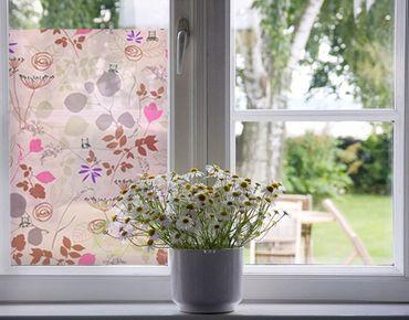 Fensterfolie - Sichtschutz Fenster Living Below - Fensterbilder