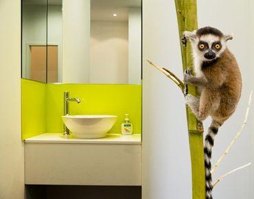 Wandtattoo Affe No.334 Ring Tailed Lemur