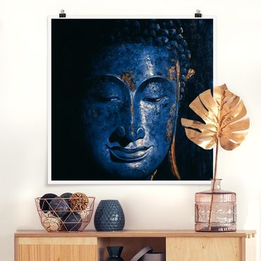 Poster - Delhi Buddha - Quadrat 1:1