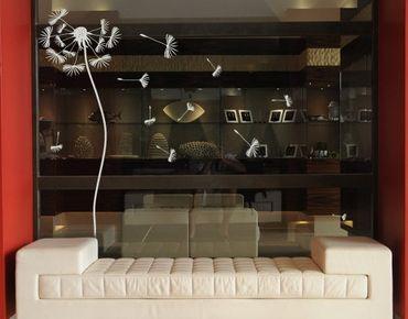 Fensterfolie - Fenstertattoo No.252 Pusteblume - Milchglasfolie
