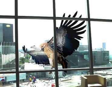 Fensterfolie - Fenstersticker No.378 Majestic Vulture - Fensterbilder